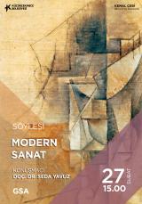 Modern Sanat Konuşmacı Doç. Dr. Seda Yavuz